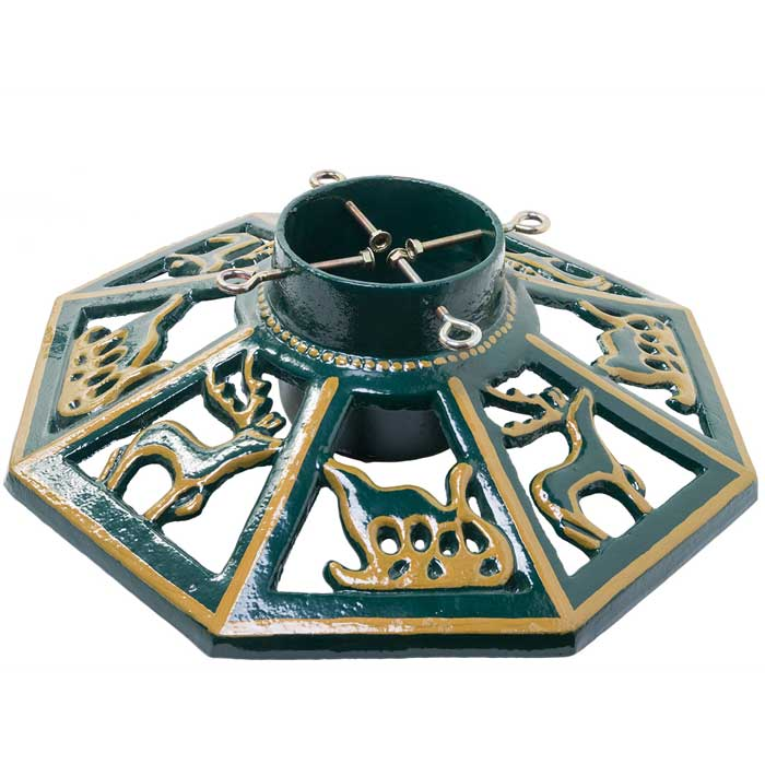 Octagonal Xl 24 Cast Iron Christmas Tree Stand The Christmas Cabin
